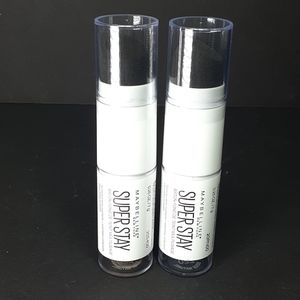 Pair Of Maybelline Super Stay Foundation Sticks